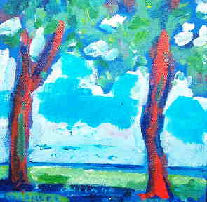Lakefront Trees 2004